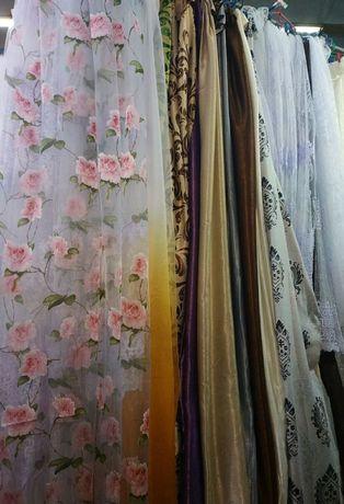 Продам штори,тюлі,арки