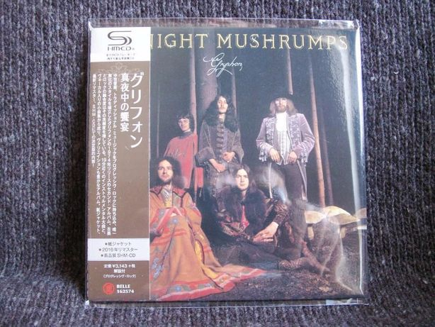 GRYPHON Midnight Mushrumps Japan mini LP SHM CD 2016