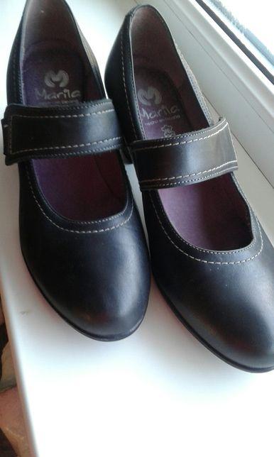 Шкіряні іспанські туфельки