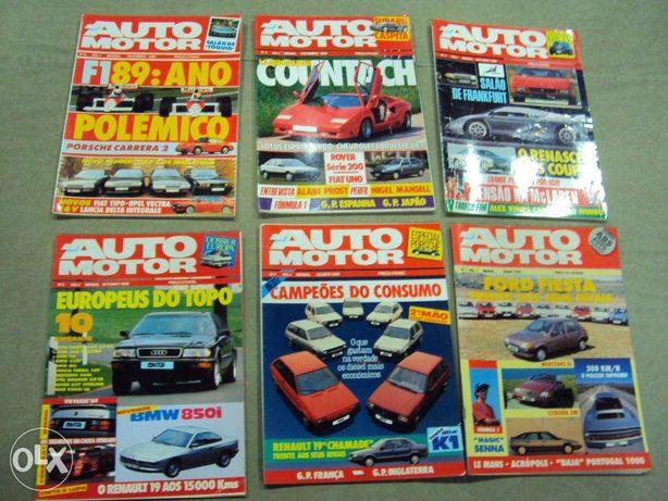 Revista AUTOMOTOR - 1ºs números (Ver Lista)