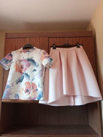 kostium RESERVED bluzka + spódnica