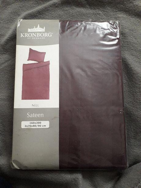 pościel komplet pościeli satynowej Kronborg satyna 160/200, 70x80/90
