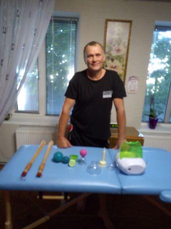 Услуги профессионального массажиста и банщика, продажа дубовых веников