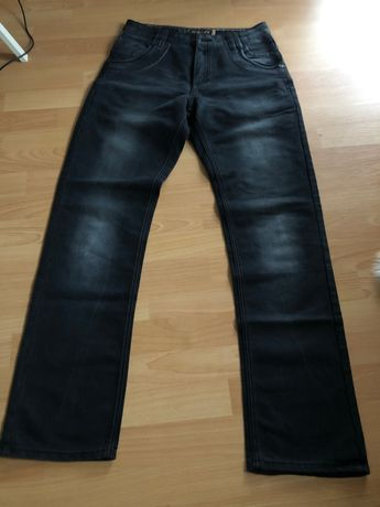 Spodnie jeansy czarne, męskie