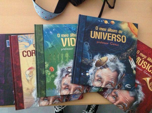 Coleção de livros professor Genius