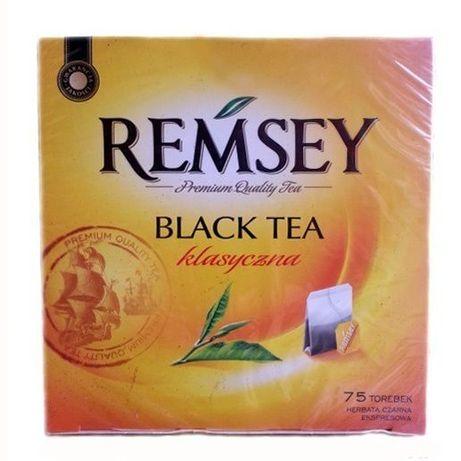 Чай Ramsey Черный Earl Grey Stong, 75 пакетиков.