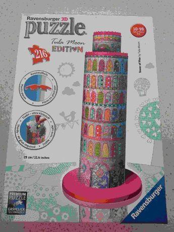 Puzzle 3D, 216 elementów, wieża w Pizie