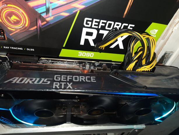 Видеокарта новая НАЛИЧИЕ MSI 3070 GeForce RTX3090 24GbGIGABYTE AORUS