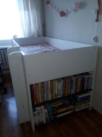 Łóżko piętrowe_szafka_biurko_krzesło