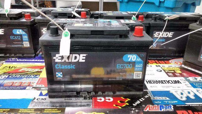 Akumulator Exide Classic EC700 12V 70Ah 640A P+ Kraków Dowóz CC700