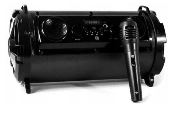 Głośnik bezprzewodowy karaoke hykker z mikrofonem