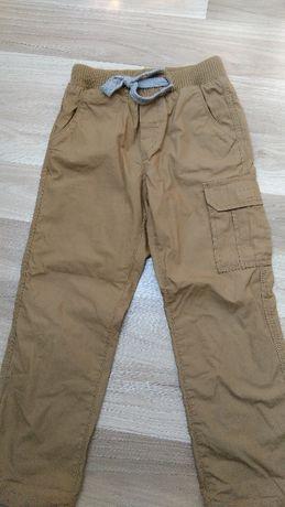 Spodnie chłopięce, ocieplane, rozmiar 116