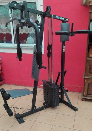 vendo maquina de musculação multifunções ginásio