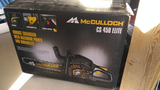 Nowa piła spalinowa McCulloch CS 450 Elite