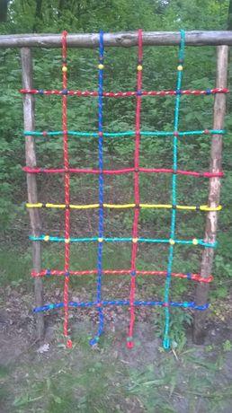 siatka wspinaczkowa małpi gaj 1,25 x 2 plac zabaw 14 mm