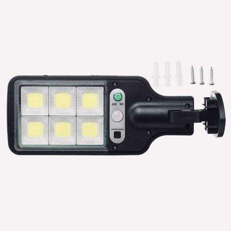 LAMPA Solarna LED 60W Czujnik ruchu zmierzchu!