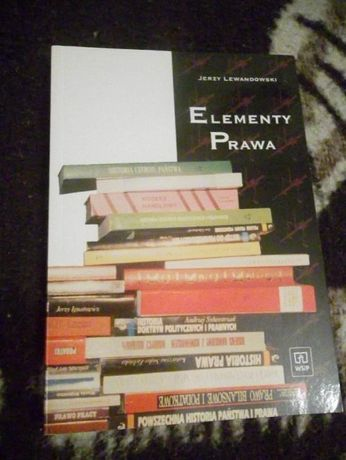Książka Elementy Prawa