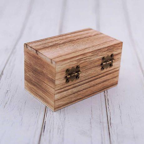Коробка -шкатулка для колец (Подарочная)!