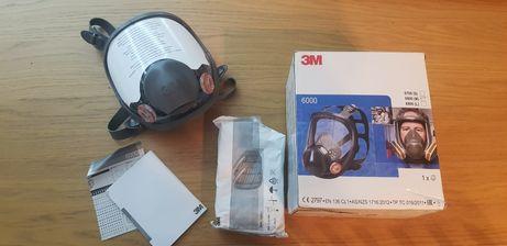 Maska lakiernicza 3m 6800 pełen komplet nowa