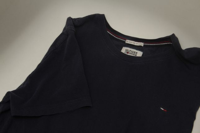 Tommy Hilfiger рр S-M футболка из хлопка
