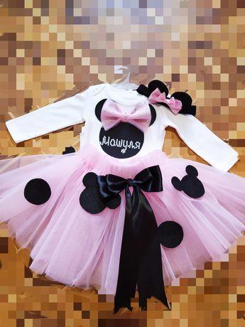 Юбка туту, юбка из фатина, костюмчик для девочки, платье