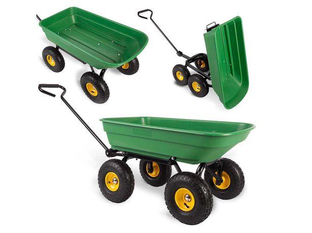 Wózek ogrodowy wywrotka 52L Humberg (4870)
