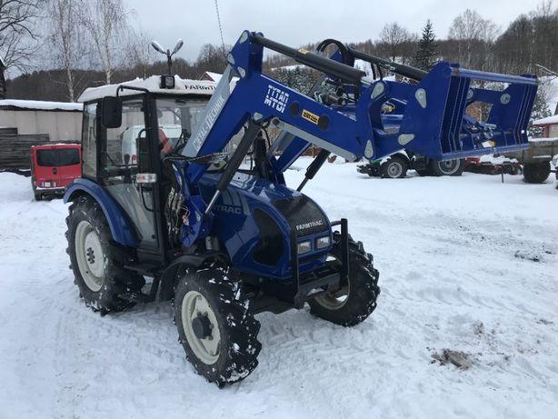 Farmtrac 555 DT + ładowacz czołowy Metal Tech MT-01 Ciągnik z ładowacz