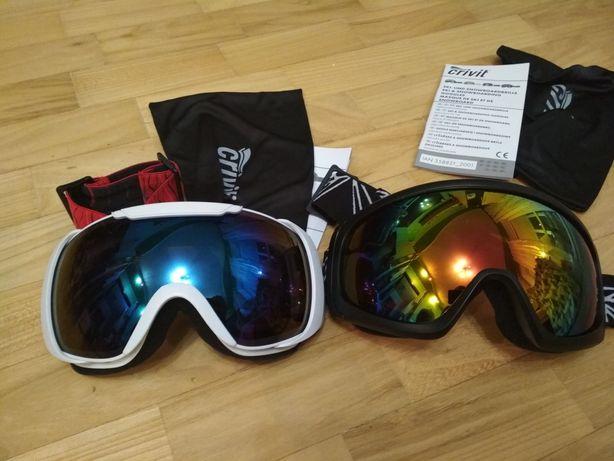 Очки лыжные горнолыжные маска лыжная Crivit