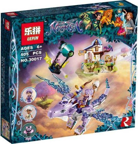 Конструктор Эйра и дракон Песня ветра Lepin 30017 (аналог ЛЕГО LEGO)