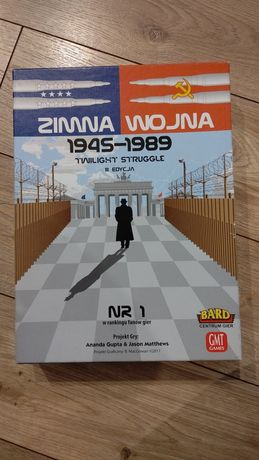 Zimna Wojna - Twilight Struggle - jak nowa