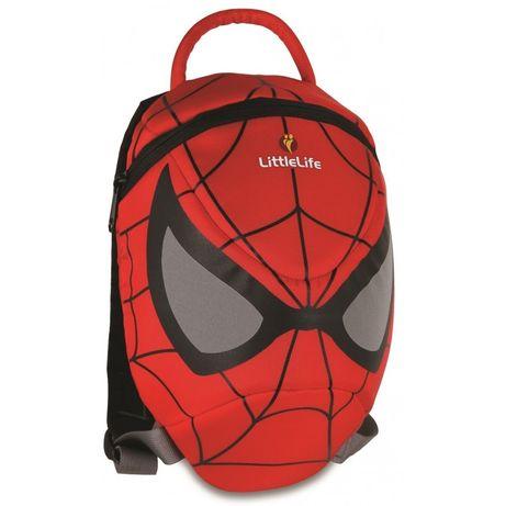 Plecak spiderman littlelife plecaczek odblaskowe oczy