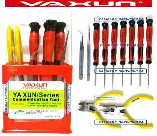 Набор инстументов YAXUN YX 218 ( отвертки ,круглогубцы, кусачки, пинце