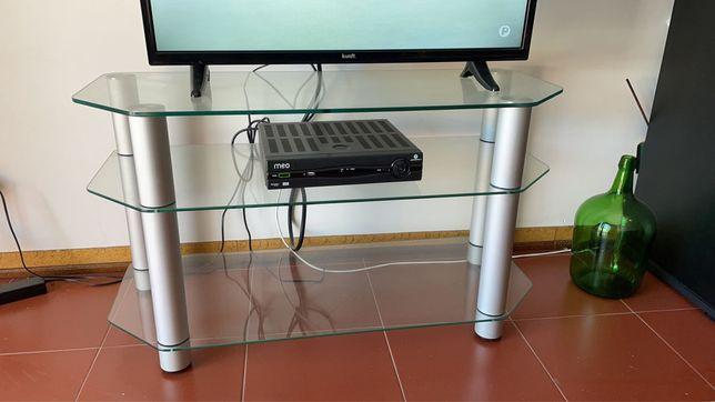 Mesa para Tv/aparador em vidro