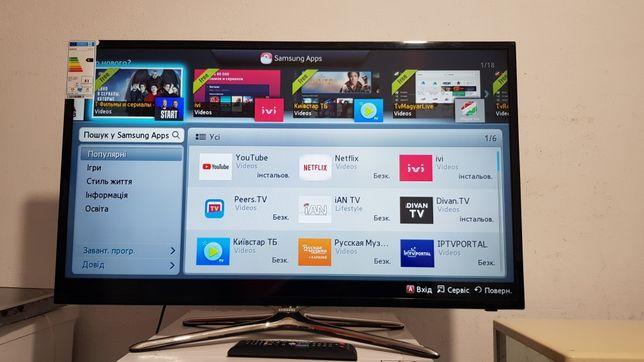 Телевізор SAMSUNG 40дюймів, smart TV,WI-FI,привезений з Німеччини