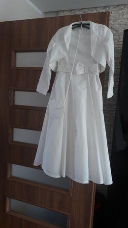Sukieneczka na różne uroczystości ( 128 cm) !!!