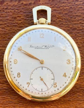 Relógio de bolso IWC vintage OURO