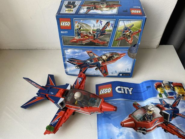 Lego City 60177 Реактивный самолет Лего Сити