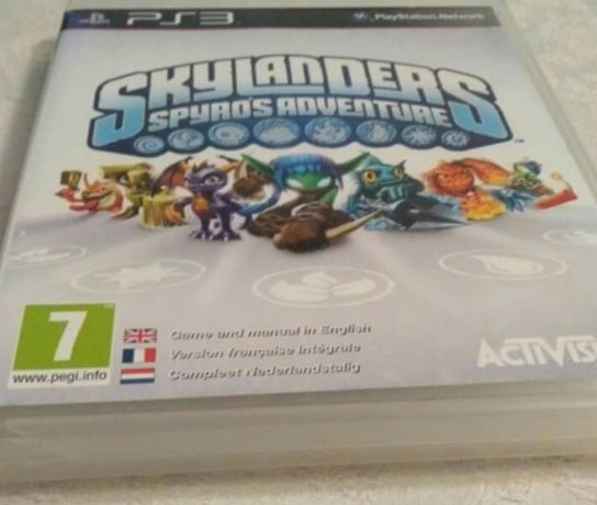 Figurki skylanders.Ps3.Port,płyta