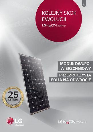 Instalacja fotowoltaiczna 6kW 16 x LG 405W Bifacial NeON2 + Fronius