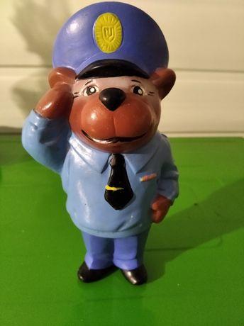 сувенир игрушка мишка милиционер