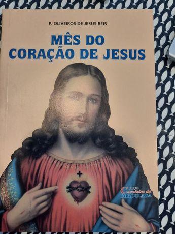 """Livro """"Mês do coração de Jesus"""""""