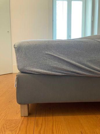 Cama de Casal IKEA (como novo) - IKEA Double Bed (like new)