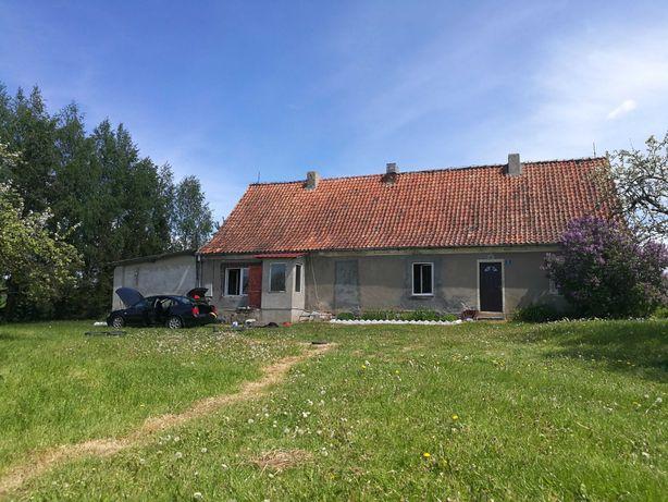 Sprzedam siedlisko na Warmii  dom + 0.7 ha + budynki