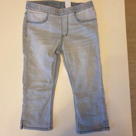 Leginsy jeansowe 3/4 H&M dla dziewczynki