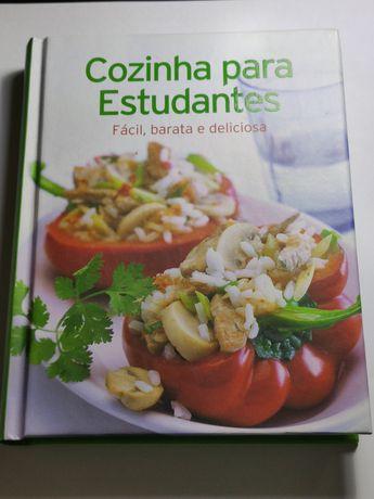 Livro cozinha para estudantes