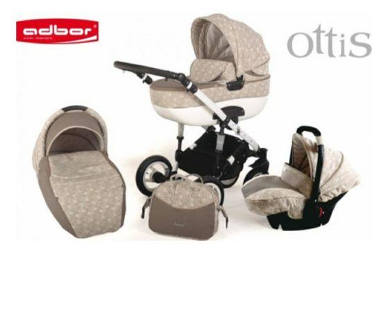Дитяча коляска 3 в 1 Аdbor Ottis 02