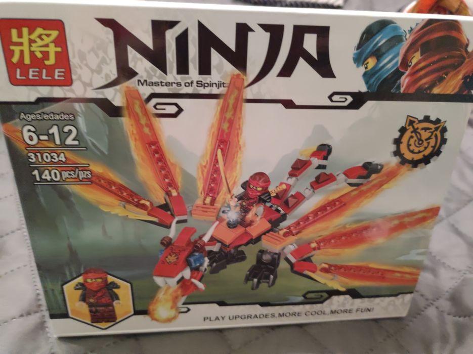 Sprzedam ninja klocki smok Koziegłowy - image 1