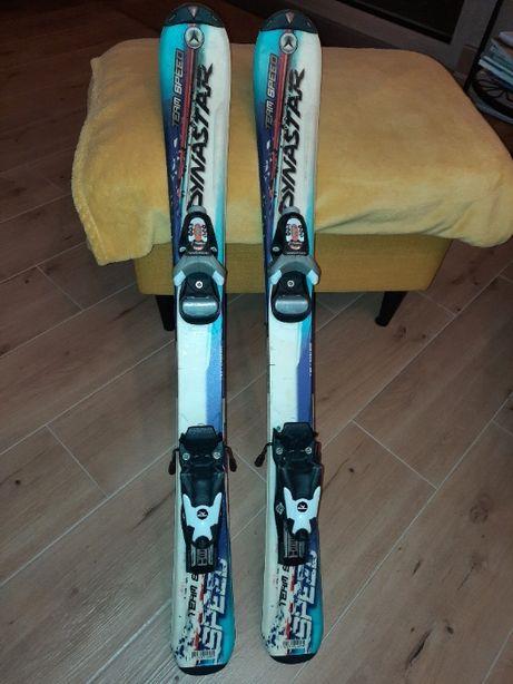 Narty Dynastar Team Speed 90 cm + kije