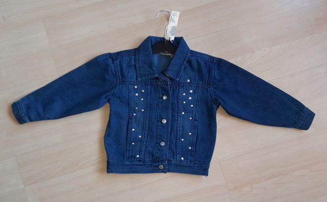 Nowa kurtka jeansowa dla dziewczynki rozmiar 104, 4 lata