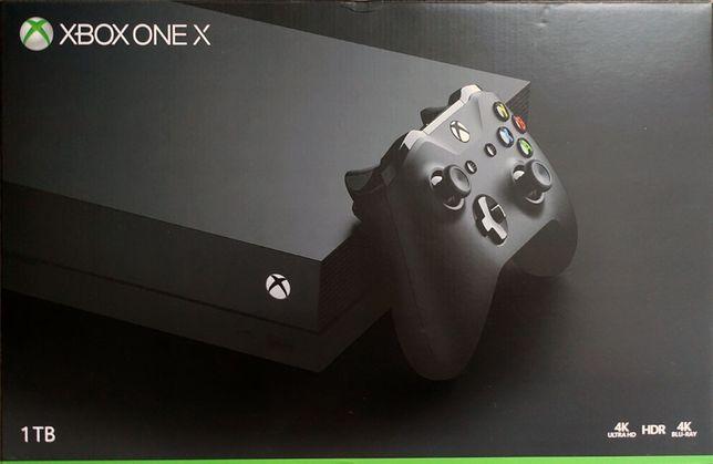 Konsola Microsoft Xbox One X Blu-Ray 4K Idealna Jak nowa UGP 350 gier